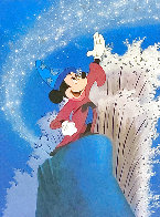 Mickey Master of the Elements 1997 Limited Edition Print by  Courvoisier Disney Cels - 0