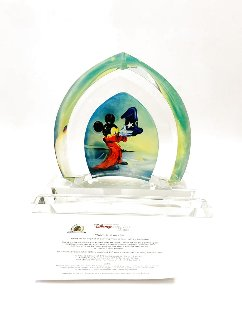 Here is Your Hat Glass Sculpture 2007 9 in Sculpture -  Courvoisier Disney Cels