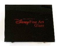 Tinkerbell Glass Sculpture 2007 9 in Sculpture by  Courvoisier Disney Cels - 2