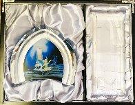 Tinkerbell Glass Sculpture 2007 9 in Sculpture by  Courvoisier Disney Cels - 1