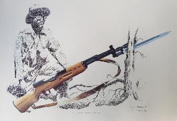 7.62 MM X 39 MM Simonov Sl Rifle 1981 Limited Edition Print by Craig Bone