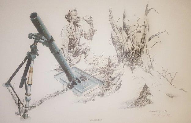 Military Art Set of 8 1981 Limited Edition Print by Craig Bone