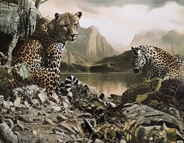 Year of the Leopard 1995 Limited Edition Print by Craig Bone