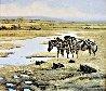High Plains Drifter 1995 29x33 Original Painting by Craig Bone - 0