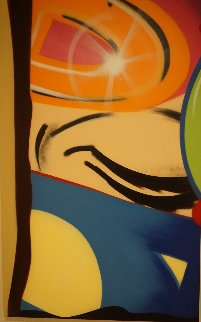 Untitled Painting 2010 48x30 Original Painting -  Crash (John Matos)
