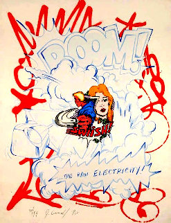 Raw Electricity 1990 Limited Edition Print by  Crash (John Matos)