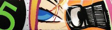 Wheels of Steel 2010 22x100 Super Huge Mural Original Painting -  Crash (John Matos)
