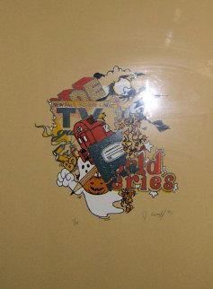 Four Seasons 1991 Limited Edition Print by  Crash (John Matos)
