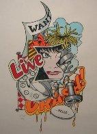 Wanted 1989 Limited Edition Print by  Crash (John Matos) - 1