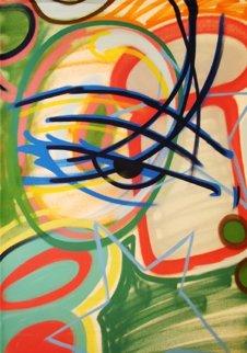 Untitled Painting 45x37 Original Painting by  Crash (John Matos)
