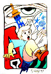 Frustration 1997 Limited Edition Print -  Crash (John Matos)
