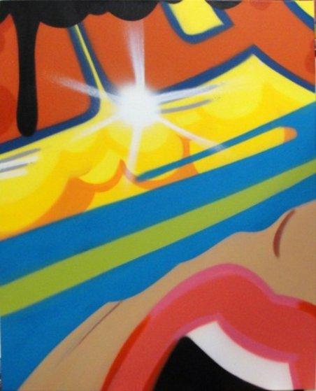 A Message From Marli 2011 30x24 Original Painting by  Crash (John Matos)