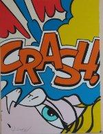 Crash Orange 1989 Limited Edition Print by  Crash (John Matos) - 1