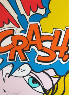 Crash Orange 1989 Limited Edition Print by  Crash (John Matos)
