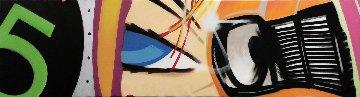 Wheels of Steel 2010 22x100 Mural Original Painting by  Crash (John Matos)