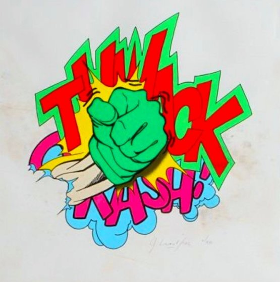 Thwack 2002 Limited Edition Print by  Crash (John Matos)