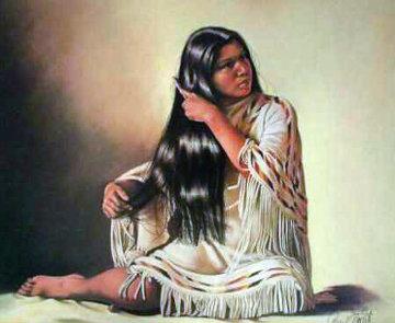 Aakkashdeexiassaash 1979 Limited Edition Print - Penni Anne Cross