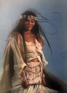 Halfbreed 2 1999 Limited Edition Print by Penni Anne Cross