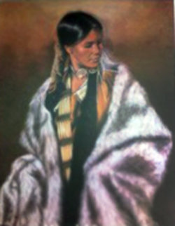 Woman Chief 1979 Limited Edition Print by Penni Anne Cross