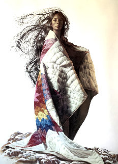 Star Quilt 1981  Limited Edition Print by Penni Anne Cross