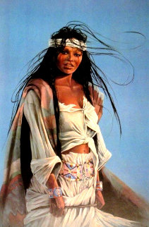 Half-Breed II 1989 Limited Edition Print by Penni Anne Cross
