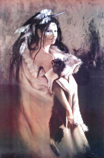 Elk Skin Robe HC 1987 Limited Edition Print - Penni Anne Cross