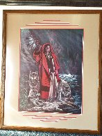 Red Ridinghood and Her Wolves Limited Edition Print by Penni Anne Cross - 2