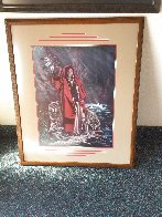 Red Ridinghood and Her Wolves Limited Edition Print by Penni Anne Cross - 1
