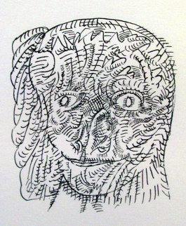 Untitled Etching AP 1971 Limited Edition Print by Jose Luis Cuevas