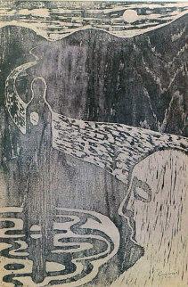 Untitled Unique 1956 Limited Edition Print - Jose Luis Cuevas