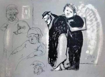Prisoners Limited Edition Print - Jose Luis Cuevas