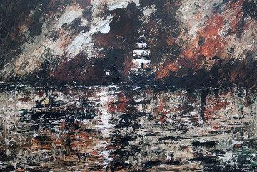 Befallen By Darkness Embellished   Limited Edition Print - Dan Cumpata