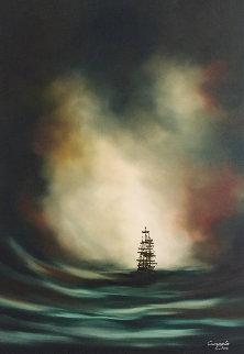 Auburn Madness 35x23 Original Painting - Dan Cumpata