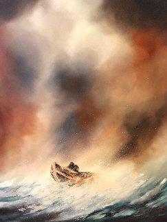 Fearless 24x32 Original Painting - Dan Cumpata