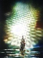 Santa Maria 2017 30x24 Original Painting by Dan Cumpata - 1