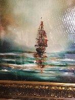 Santa Maria 2017 30x24 Original Painting by Dan Cumpata - 3