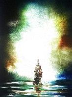 Santa Maria 2017 30x24 Original Painting by Dan Cumpata - 0