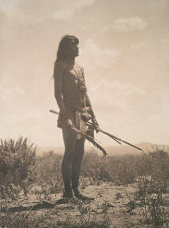 Prayer to the Sun By Hopi Snake Priest 1906 Limited Edition Print - Edward S. Curtis