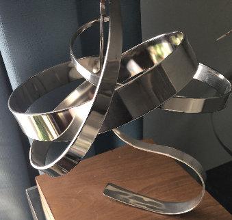 Untitled Steel Sculpture 1977 15 in Sculpture by Michael Cutler