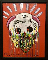 Coney Island on Your Mind 1988 41x33 Huge  Works on Paper (not prints) by Ronnie Cutrone - 1