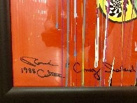 Coney Island on Your Mind 1988 41x33 Huge  Works on Paper (not prints) by Ronnie Cutrone - 2