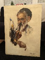 Untitled Portraits - Set of 2 28x20 Original Painting by Cyrus Afsary - 5