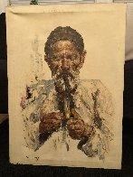 Untitled Portraits - Set of 2 28x20 Original Painting by Cyrus Afsary - 1