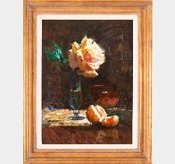 Summer Rose 20x16 Original Painting by Cyrus Afsary - 1
