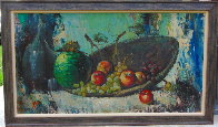 Untitled Still Life 26x44 Huge Original Painting by Cyrus Afsary - 1