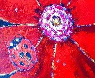 Ladybug Original 2005 24x24 Original Painting by Roman Czerwinski - 2