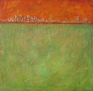 Heritage 2011 48x48 Original Painting by Roman Czerwinski