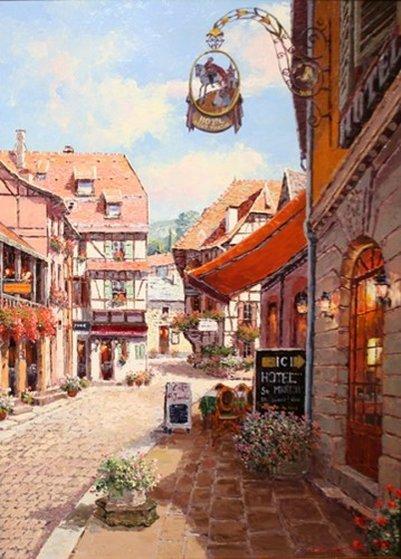 Bergheim 40x30 Original Painting - Sam Park