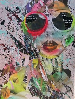 Untitled 36x48  Super Huge Original Painting -  DAIN