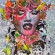 Untitled Painting 40x40 Original Painting by  DAIN - 0